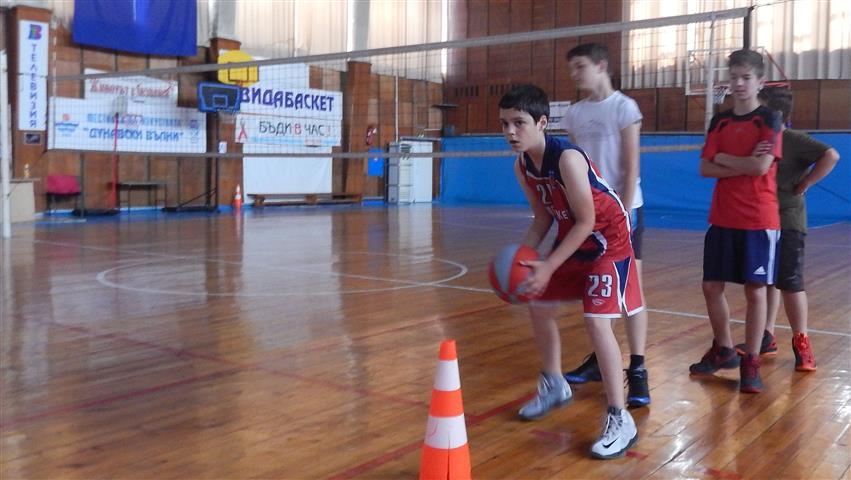 Спорт за децата в свободното време, баскетбол, Видин