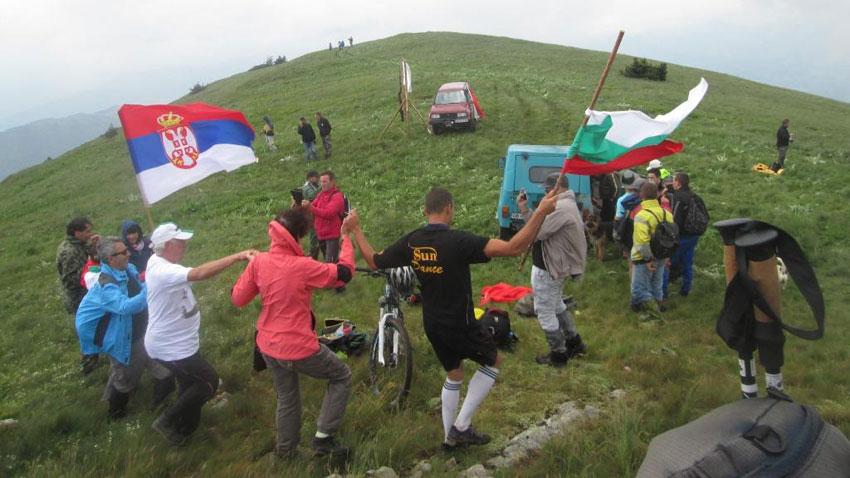Българи и сърби за девети път ще изкачват днес заедно