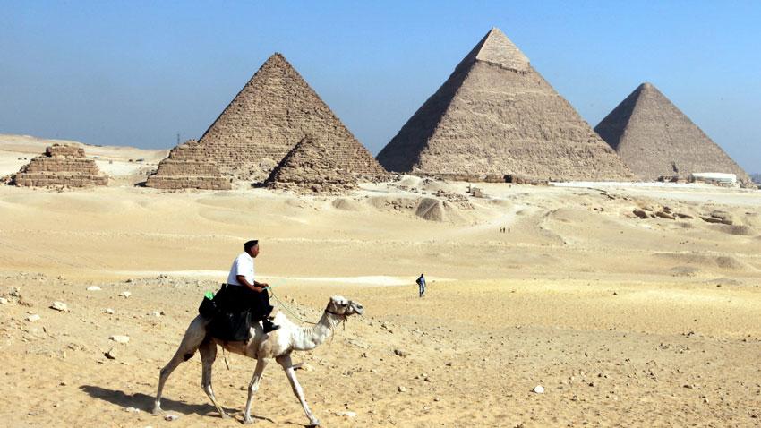 Пирамидите в Гиза, Египет