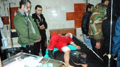 Ранено дете при бунтовническия обстрел във вторник на Джарамана, източно предградие на Дамаск. При атаката бяха убити 35 души.