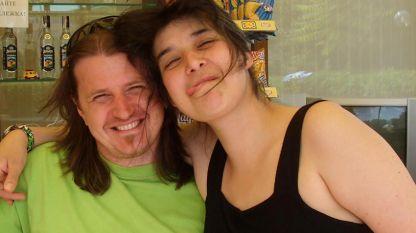 Катя Кутянова и мъжът ѝ Николай