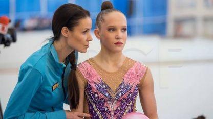Татьяна Воложанина с тренером