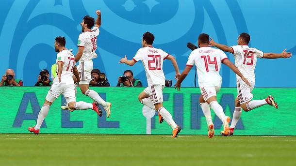 Иран победи Мароко с 1:0