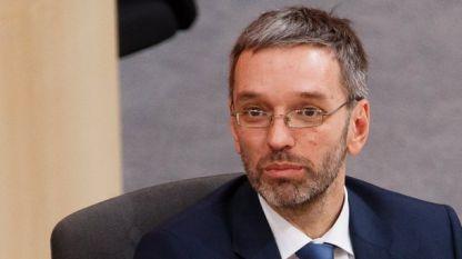 Херберт Кикл, министър на вътрешните работи на Австрия от националистическата