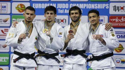 Янислав Герчев (вляво) се окичи със сребро