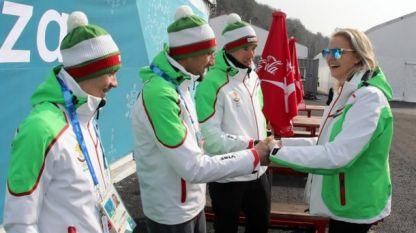 Председателят на БОК Стефка Костадинова се срещна днес с българските олимпийци