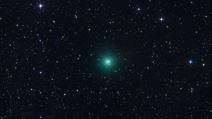 Зелена комета, чиято яркост отскоро се увеличи, ще може да