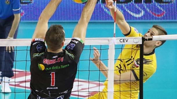Соколов направи 5 блокади срещу тима на Ники Пенчев