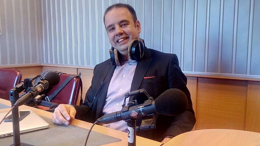 "Константин Занков в студиото на програма ""Христо Ботев"""