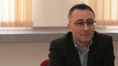 Диян Стаматов, председател на Съюза на работодателите в системата на народната просвета в България.