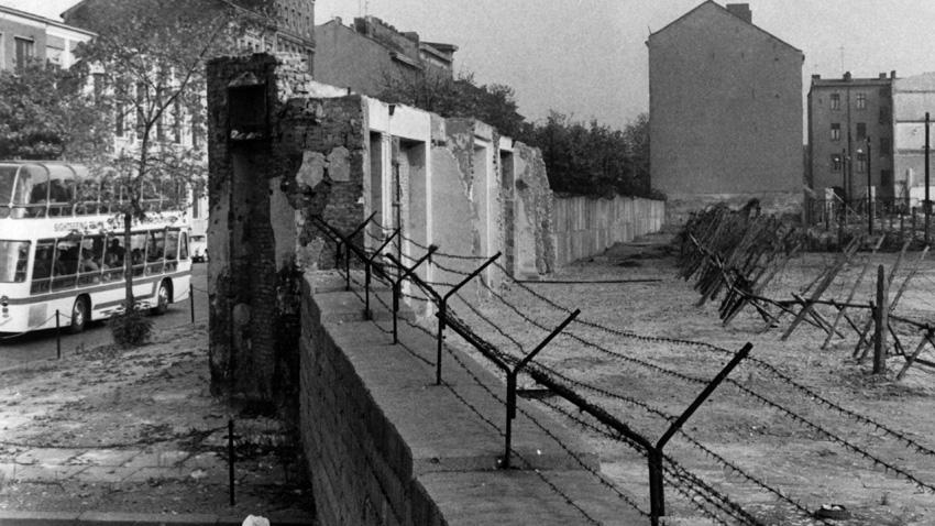 Част от Берлинската стена