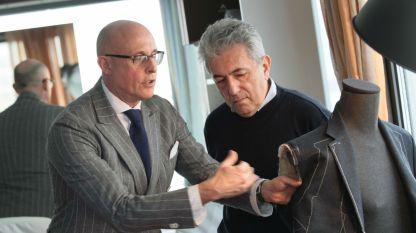 Алберто Веделаго (от ляво)