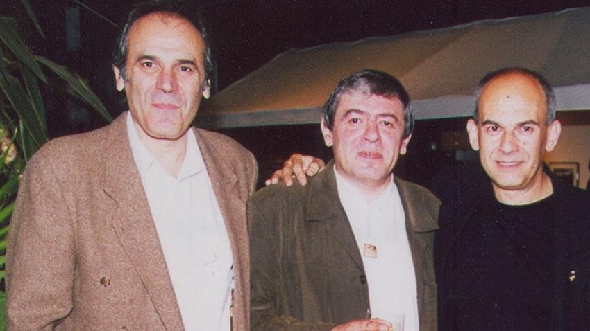 Георги Денков, Михаил Белчев и Кристиян Бояджиев (отляво надясно).