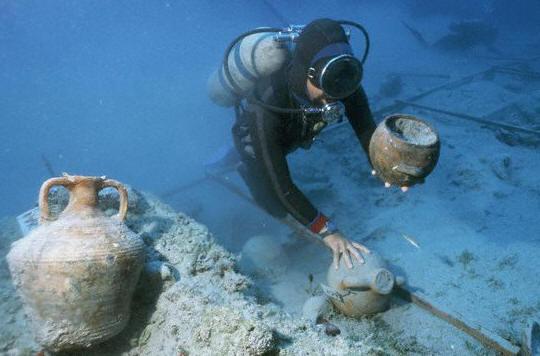 Археология Черно море проучвания водолаз