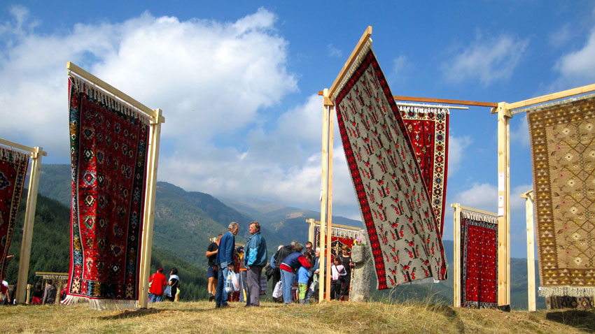 Festival tells beautiful story of Chiprovtsi carpets