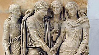 Брачен съюз в древен Рим