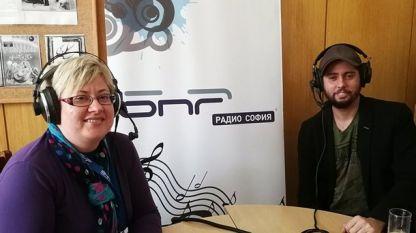 Неделчо Богданов и водещата Катя Василева