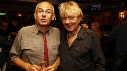 Йордан Ганчев-вдясно, Кристиян Бояджиев-вляво
