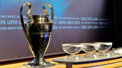 Заветный для каждого футболиста кубок УЕФА