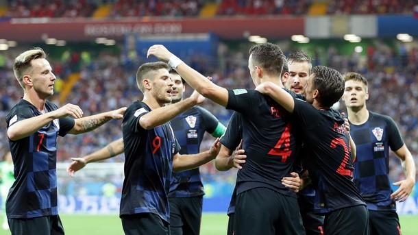 Хърватите ще играят с любимите си екипи на финала срещу Франция