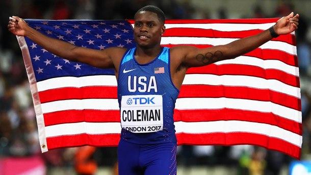Двугодишната забрана на световния шампион на 100 м Крисчън Коулмън