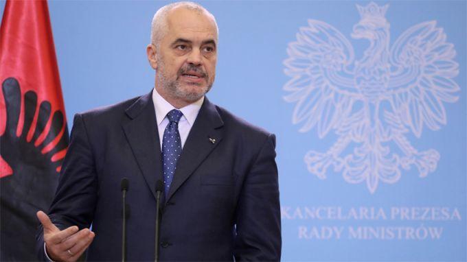Албанският премиер Еди Рама обвини ръководителите на държави-членки на Европейския