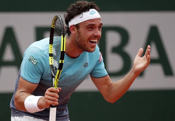 Една от сензациите на Откритото първенство по тенис на Франция