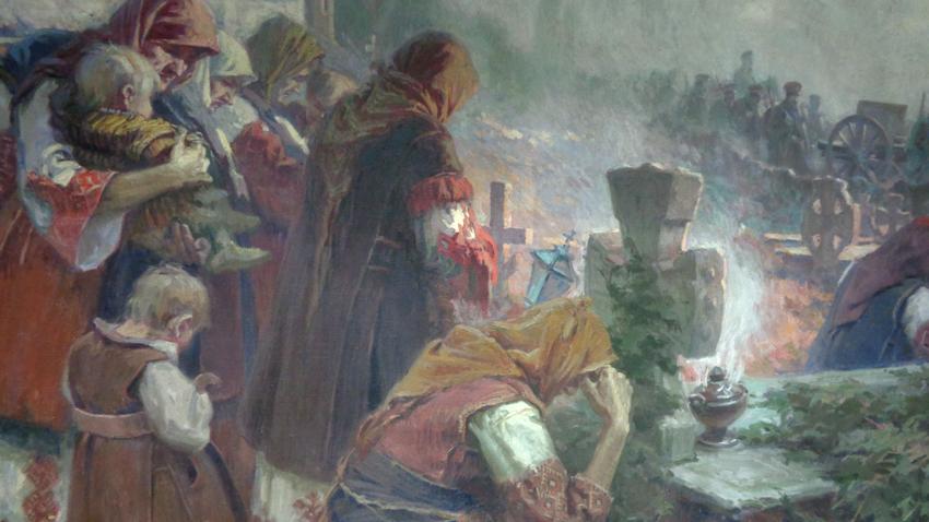 """""""Befreier"""" von Dimitar Gjudschenow"""