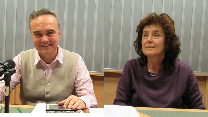 Н. Пр. г-н Стефано Балди и г-жа Елза Хаджийска – пресаташе към Посолството на Италия.