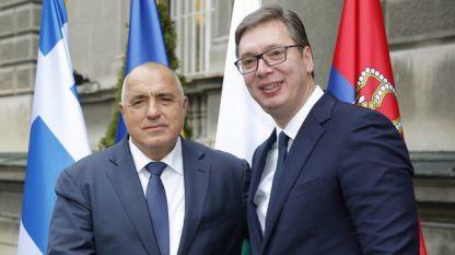 Bojko Borisov dhe Alaksandër Vuçiç