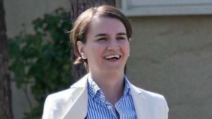 Премиерът на Сърбия Ана Бърнабич
