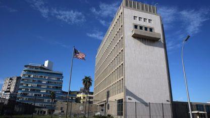 Американското посолство в Хавана