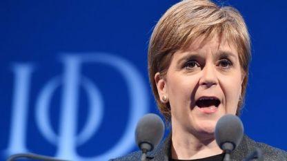 Никола Стърджън, първи премиер на Шотландия