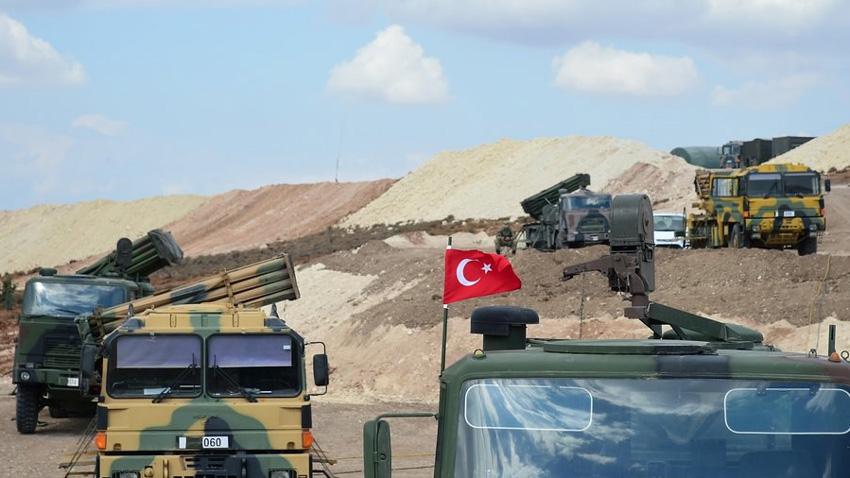 След днешните масирани бомбардировки срещу кюрдите в сирийския град Африн