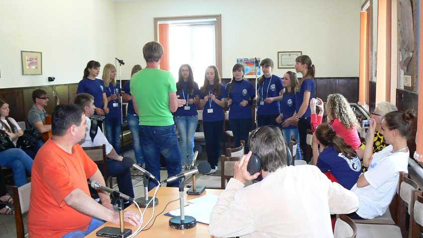 Участници в предаването, посветено на събора, 2011 г.