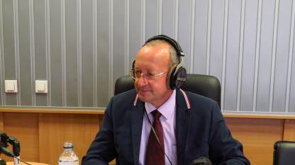 Цветан Симеонов, председател на Управителния съвет на БТПП в студиото на
