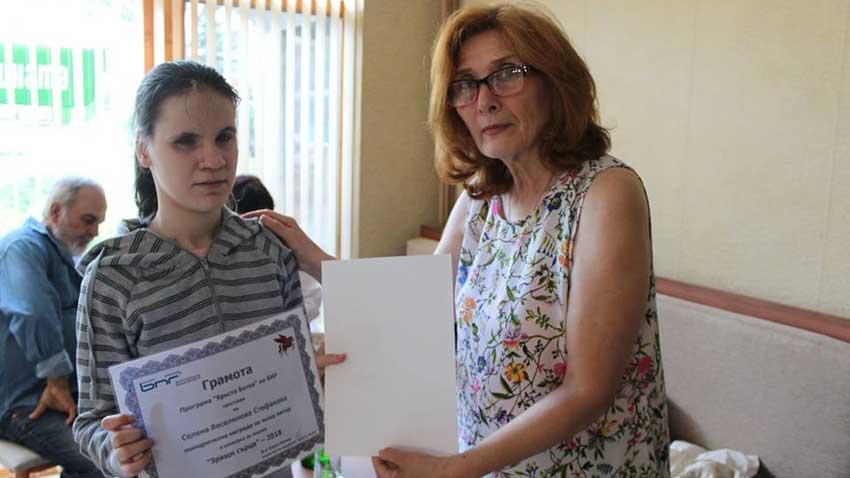 Селена Стефанова (вляво) и Цвета Николова