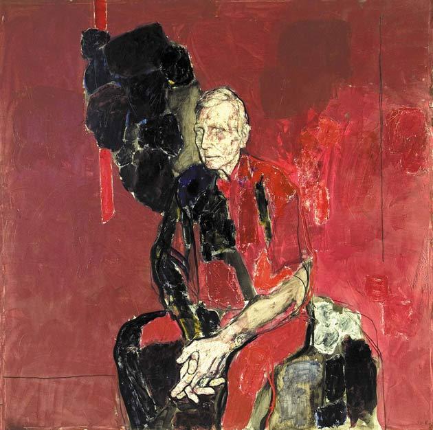 """""""Мой отец"""" - одна из картин, представленных на выставке в Москве"""