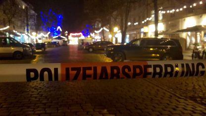 Част от центъра на Потсдам вчера бе евакуиран.