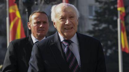 Посредникът на ООН Матю Нимиц по казуса за името на Македония