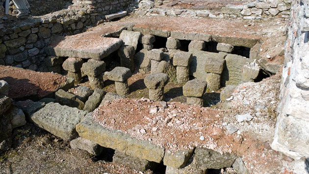 Roman baths in Deultum