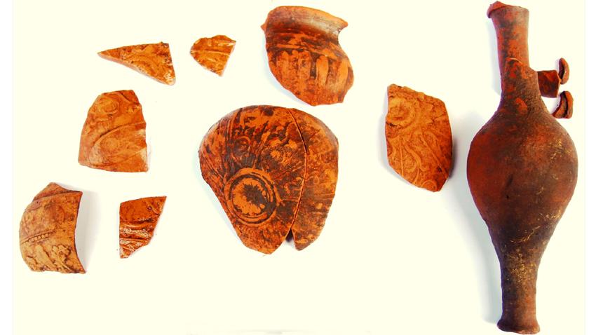 Фрагменти от импортна керамика