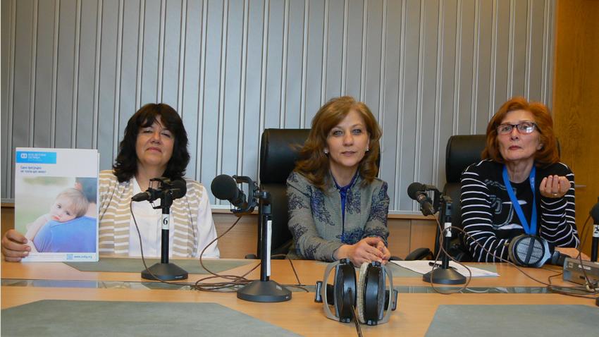 От ляво на дясно: Нина Тодорова, Росица Димитрова и Цвета Николова