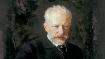 Портрет на Чайковски от Николай Кузнецов