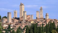 Сан Джиминяно, Италия