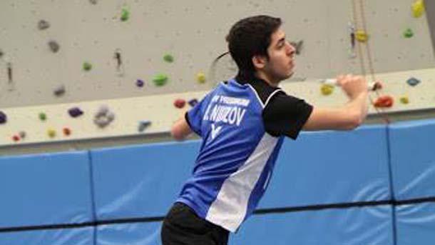 Бадминтонистът Даниел Николов постигна четири поредни победи на турнира в