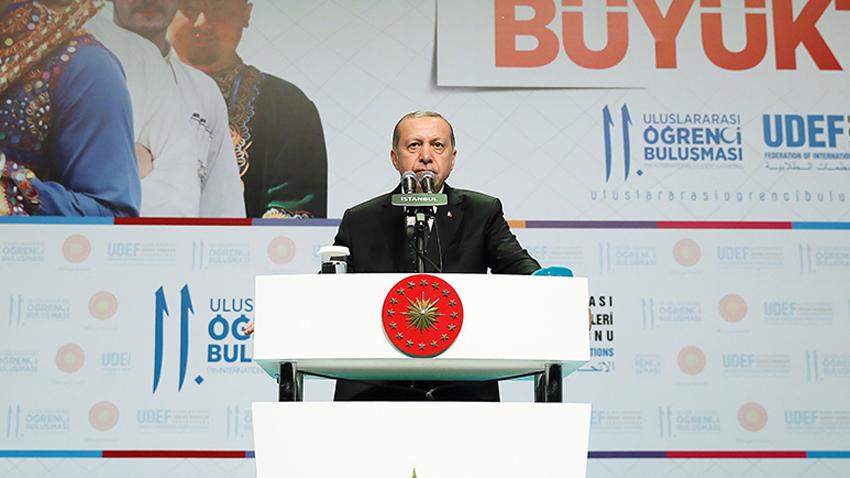 Турският президент Реджеп Тайип Ердоган съобщи днес, че Турция и