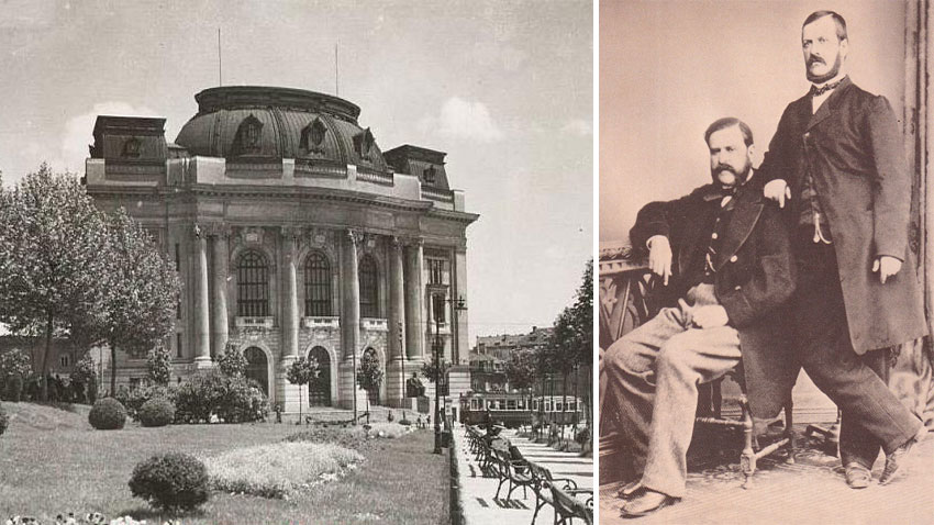 For the building of Sofia University the brothers Hristo and Evlogi Georgiev donated 6 million golden Bulgarian levs, which were the equivalent of 18 tons of gold!