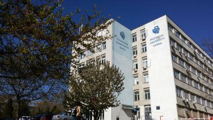 Сградата на Техническия университет във Варна.