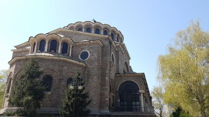 Saint Nedelya Church downtown Sofia